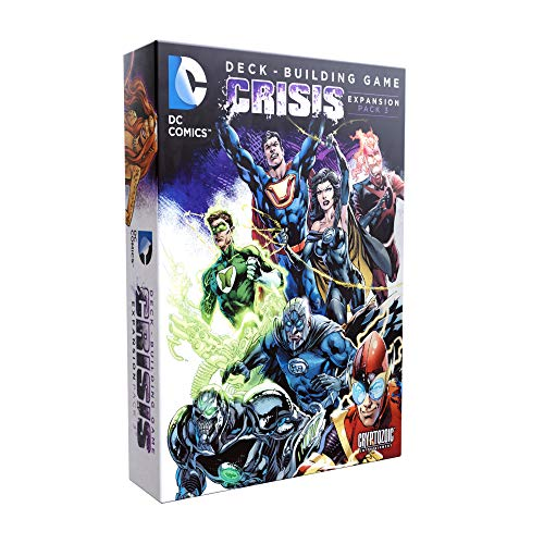 DC Deck-Building Game: Crisis Expansion Pack 3 - Two Modes of Cooperative Play - Impossible Mode Super-Villains - Requires DC Deck-Building Game Base Game