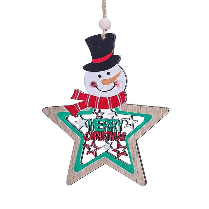 トランスミッションペンダント財政クリスマスペンダント 木製装飾品 クリスマスグッズ クリスマス吊るす 吊るす飾り クリスマスツリー飾り 吊り下げ式 壁飾り 小物 道具 パーティー用 家庭用
