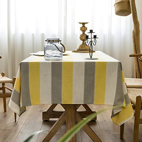 LIUJIU El mantel de viniloEl mantel de PVC y puede limpiar picnic interior/exterior, barbacoas y cubiertas de mesa, 140 x 240 cm