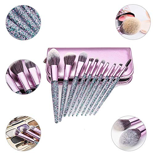 Mouchao Set Of 15PCS Professional Pieces Brushes Pack Complete Make-Up Brushes