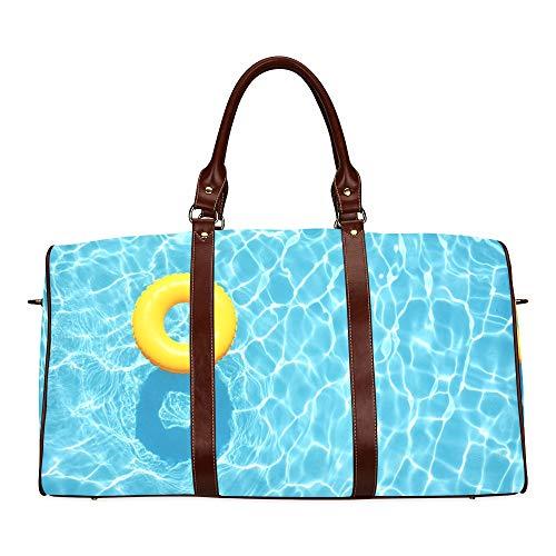 Best Duffel Bag For Women Girls In The Swimming Pool Waterproof Microfiber Leather Carryon Bag Deisen Handbags Handbag Travel Men Bags Travel Woman Travel Bag