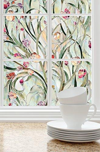 Artscape Fensterfolie, Spanisch Garten, 24x36inc, (61x 92cm)
