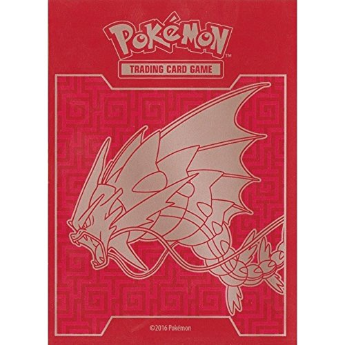 65 Mega Gyarados EX Sleeves / Deck Protectors (for Pokemon Cards) From Breakpoint Elite Trainer Box