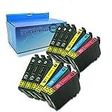 Caidi - 12 cartuchos de tinta Epson 29 XL compatibles con Epson Expression Home Xp-332 XP-335 XP-235 XP-432 Xp-435 Xp-245 Xp-247 Xp-342 Xp-345 Xp-442 Xp-445 Xp-330 Xp-430