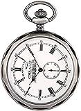 ADSE Reloj de Bolsillo para Hombre, Relojes de Bolsillo de Viento de Mano mecánicos de Cobre clásico para Hombre, Reloj de Bolsillo Antiguo con Cadena de Reloj Colgante para Hombre