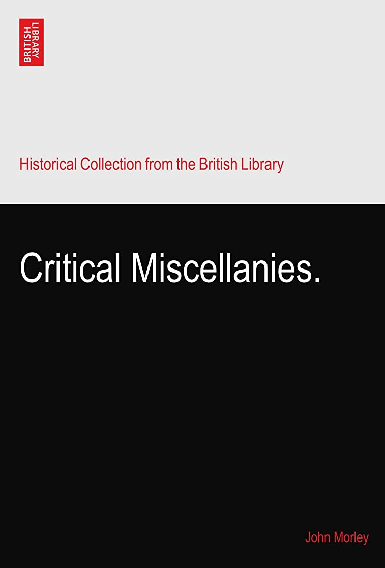 粘着性類似性メンテナンスCritical Miscellanies.