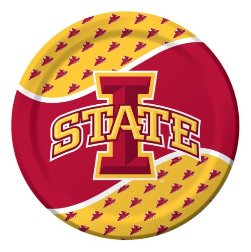 8-Count 20-Ounce Plastic Party Cups, Iowa State Cyclones
