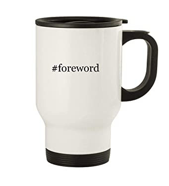 #foreword - 14oz Stainless Steel Travel, White
