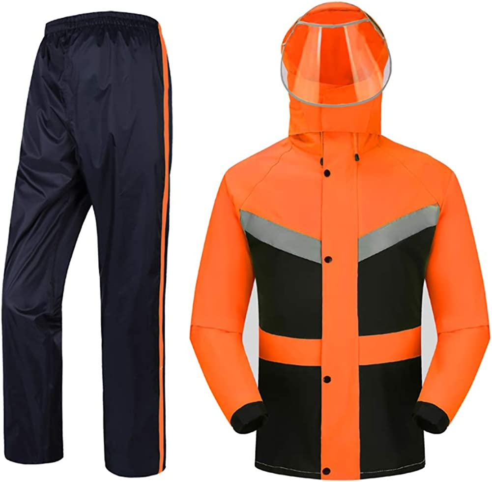 Oncefirst Adults Waterproof Popular Bargain popular Rain Suit Jackets with Pants 2