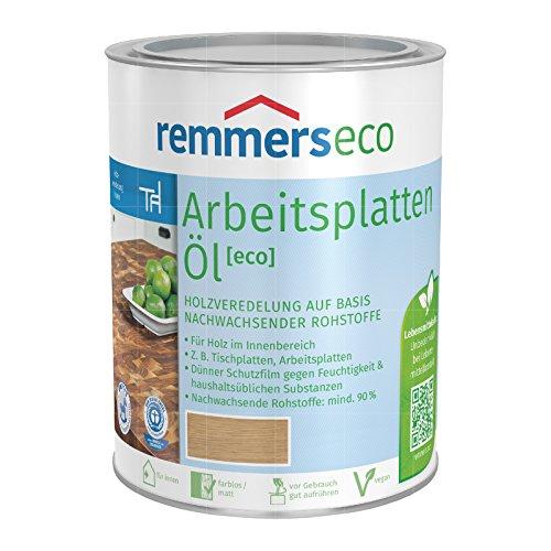 REMMERS ECO ARBEITSPLATTEN-OEL - 0.75 LTR (FARBLOS)