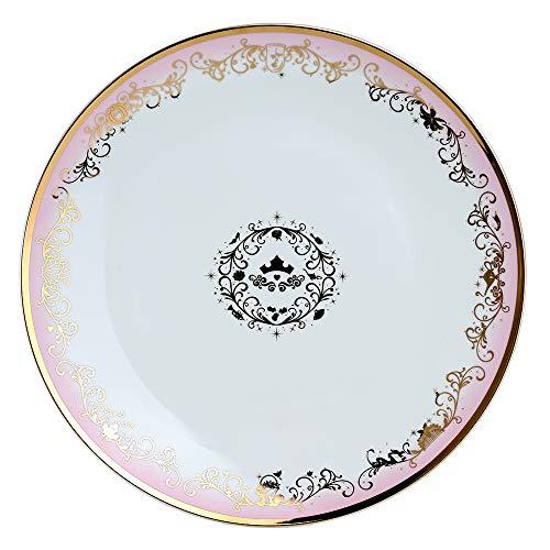 Disney Princess - Fuente de porcelana con detalles dorados (40,6 cm)