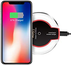 Wireless Charger, QI E&jing Wireless Charging Pad for Apple iPhone X iPhone 8/8 Plus Samsung Note 8 S8/S8 Plus/S7/S7 Edge/S6 Nexus 7/6/5/4(2013) Nokia Lumia 920 LG Optimus Vu2 Wireless Charger