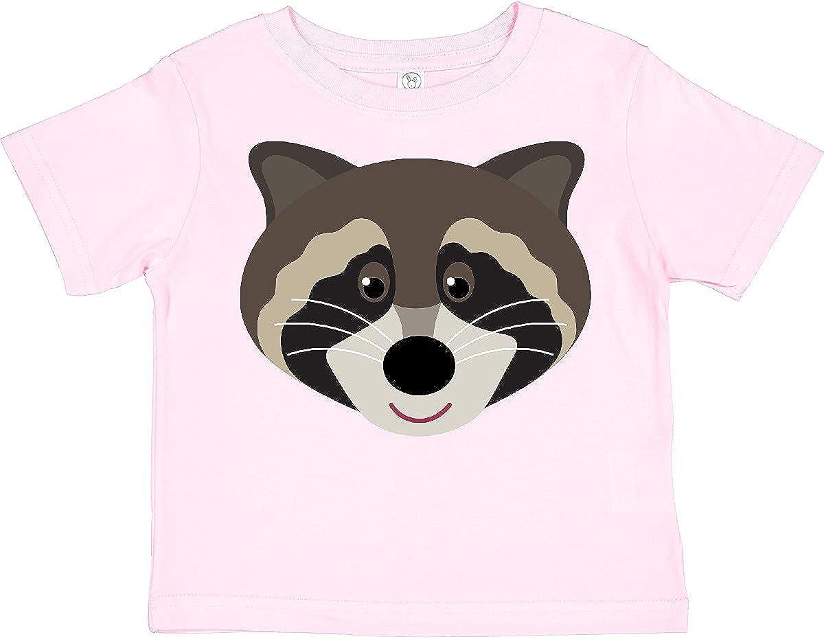 inktastic Raccoon Animal Face Toddler T-Shirt