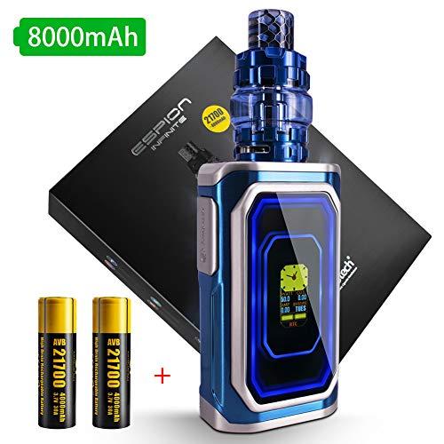 Joyetech E Zigarette Starter Set Joyetech Espion Infinite 230W mit ProCore Conquer Verdampfer mit 2 X 4000mAh 21700 Batterie,Ohne Nikotin (Blau)