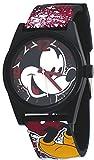 Disney #MCK1574 - Reloj de pulsera analógico, con correa de silicona, con diseño de Mickey Mouse