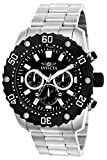 Invicta Men's 'Pro Diver' Quartz Stainless Steel Casual Watch, Color:Silver-Toned (Model: 22516)