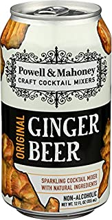 Powell & Mahoney Sparkling Ginger Beer - 12 oz cans - 4pk