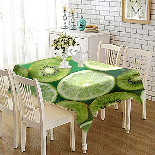 DREAMING-Verdickte Bedruckte Stoff Tischdecke Home Esstisch Stoff Tv-Schrank Couchtisch Stoff Runde Tisch Tischset 90cm * 140cm