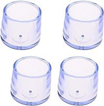 B Baosity Ronde stoelpootdoppen siliconen set van 4 stoelpoten beschermdoppen vloerbescherming tafelafdekking vloerbescher...