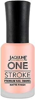 Jaquline USA One Stroke Premium Nail Enamel Matte Finish, Serenity 40, 8 ml