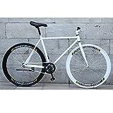 YXWJ Las Bicicletas de 26 Pulgadas de aleación de magnesio de Carreteras de la Rueda 30 Radios Fixie Bicicleta Fija MTB BMX de la Bici del envío Libre del Engranaje de la Bici Hombre Mujeres
