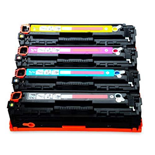 GYYG para HP CF400A Reemplazo de Cartucho de tóner Compatible 201A para HP Color Laserjet Pro M277N 277DW M277N 277DW 252N Impresora con Tambor de Imagen de Chip, Impresi Set