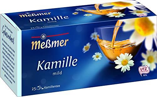 Meßmer Kamille | 25 | Teebeutel | Vegan | Glutenfrei | Laktosefrei