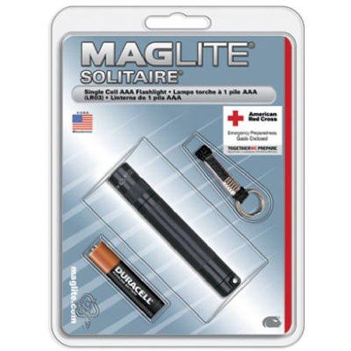 MagLite K3 A # 016 Solitaire Lampe Torche, Noir
