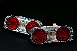 LED Tail Light Lamp Right and Left for 2-Door Coupe for Nissan Skyline R32 JDM 89-92 GTR