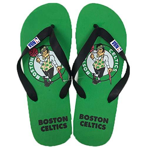 NBA Boston Celtics – Chanclas suaves para playa, piscina y tiempo libre, producto oficial para niño, adulto (varias tallas disponibles) Multicolor Size: 38 EU