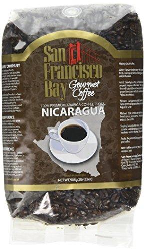 San Francisco Bay Coffee Nicaraguan, Whole Bean, 908g