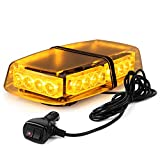 WoneNice 24 LED 24 Watts Emergency Hazard Warning LED Mini Bar Strobe Light...