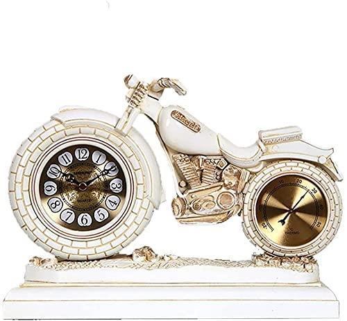Abuelo relojes de escritorio reloj decorativo reloj reloj despertador reloj de escritorio creativo reloj reloj péndulo reloj personalidad motocicleta escritorio reloj retro sala de estar reloj ho