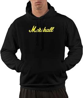 Nickmy Marshall-Amplification Men's Casual Sweater Autumn Winter Warm Sweater Hoodie Hooded Sweatshirt Black