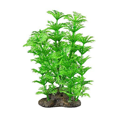 Elive Natural Elements Grün cabomba-medium-5–15,2cm Aquarium Dekor Kunststoff Pflanzen