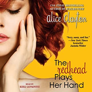 The Redhead Plays Her Hand audiobook cover art