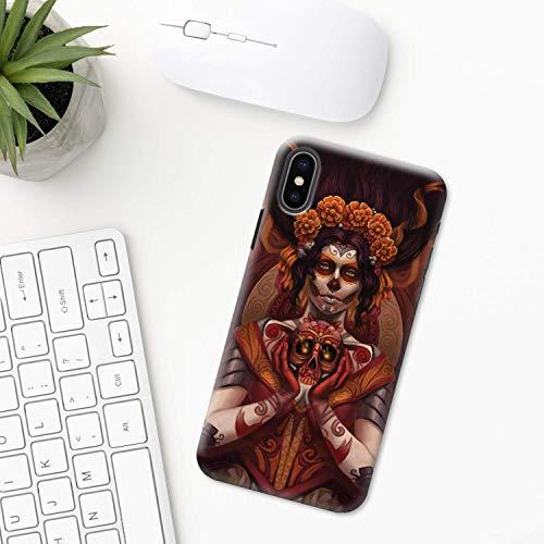 Mexiko (Tag der Toten) iPhone Hülle XR 11 X XS MAX Pro 8 7 Plus 6 6s 5 5s SE 2020 10 Plastik Silikon Apple iPhone phone case festival halloween Maske Schädel Azteken Mexikanische