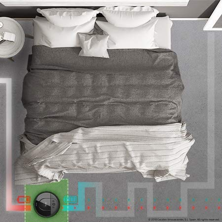 Cecotec Robot Aspirador Conga Serie 1690 Pro. 2700 Pa, Tecnología de Sensor Óptico iTech SmartGyro Eye, App con Mapa, Aspira, Barre, Friega y Pasa la Mopa, Cepillo para Mascotas, Alexa y Google Home