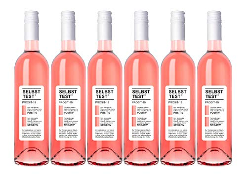 Selbsttest Rosé feinherb, Dagernova Weinmanufaktur, Bad Neuenahr-Ahrweiler, Jahrgang 2020 (6 x 0,75 l)