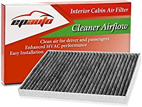 EPAuto CP179 (CF179C) Replacement for Toyota/GMC/Buick/Saturn Premium Cabin Air Filter includes Activated Carbon