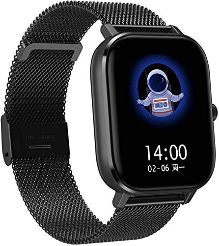 FENGJJ Los Relojes Inteligentes para Hombres y Mujeres, los Relojes Profesionales a Prueba de Agua IP67 Pueden Responder teléfonos, Relojes Inteligentes, Relojes, teléfonos Android compatibles