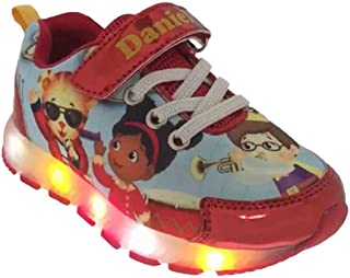 Daniel Tiger Toddler 37119 Athletic Shoes with Lights