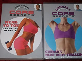 CORE SECRETS 2 DVD SET + AGILITY LADDER. MAXIMIZE YOUR RESULTS WITH GUNNAR PETERSON!