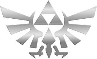 Bargain Max Decals - Legend of Zelda Triforce Wings Delta - Sticker Decal Notebook Car Laptop 6