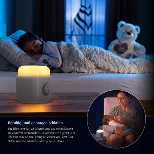 reer SleepLight 2in1 Nachtlicht für die Steckdose und mit Akkubetrieb, cool grey - 4