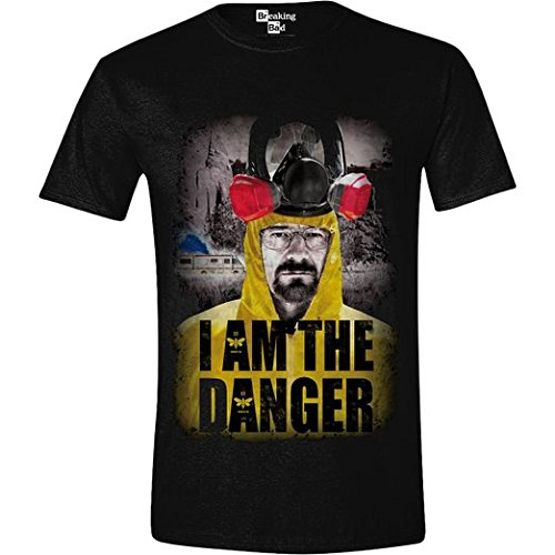 Breaking Bad - I Am the Danger Homme T-Shirt - Noir - Taille X-Large