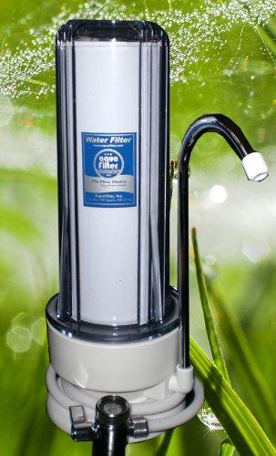 Trinkwasserfilter Auftisch, Wasserfilter, mit NFP Premium von Carbonit Aktivkohlefilter