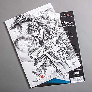 DIN A4 Luma Designbox Skizze Caja de dibujo