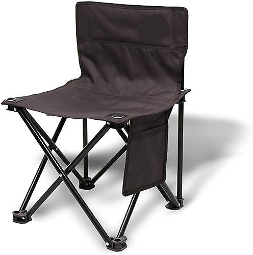 GMZDYTY portable Petit Tabouret Pliant, Chaise Pliante en Plein Air avec Sac Latéral Pêche Chaise Camping Loisirs Chaise De Plage Chaise De Plage Petit Cheval Tabouret (Taille   Medium)