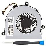 MMOBIEL Laptop CPU Ventilator (Links und Rechts) zur Kühlung Lüfter kompatibel mit HP 250 G4 255 G4 Notebook 15-AC Series DC28000GAR0 SPS-813946-001 Inkl (+) Schraubenzieher